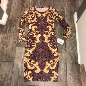 LuLaRoe Debbie Dress XS NWT